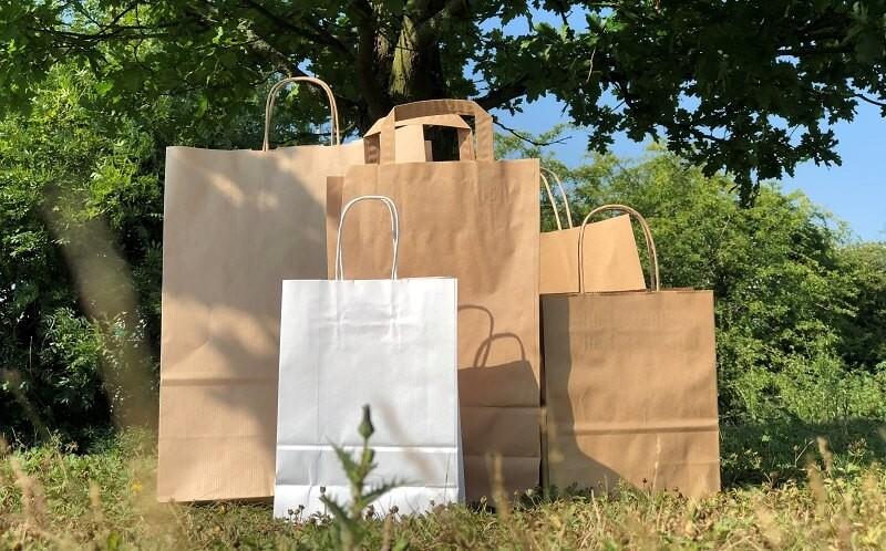 Ar visi popieriniai maišeliai gali būti perdirbami?