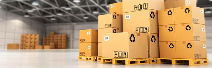 Standartinės dėžės sandėliavimui ir transportavimui